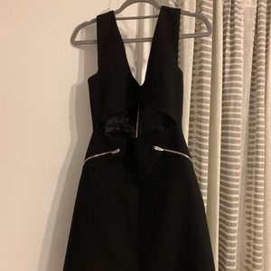 Zara Keyhole Zip Dress